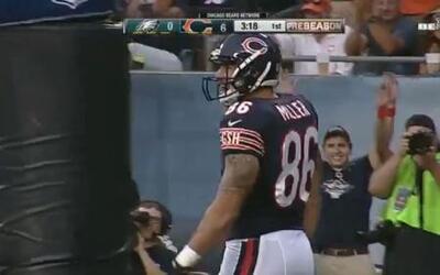 Zach Miller touchdown