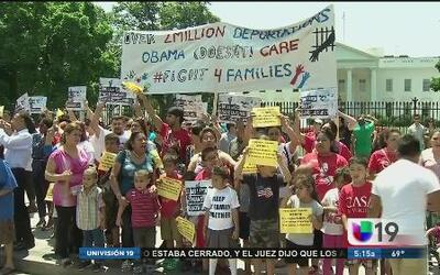 Piden que dejen a los niños inmigrantes en el país