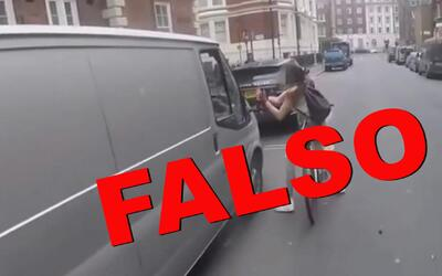 La venganza de la ciclista al conductor machista que resultó ser un mont...