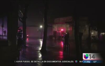 Evacúan residencias de San Anselmo ante el riesgo de inundaciones en el...
