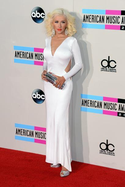 Nosotros definitivamente preferimos a la Christina Aguilera con labios r...