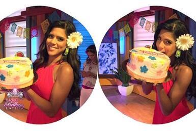 La reina de Nuestra Belleza Latina tiene mucho para celebrar en su cumpl...