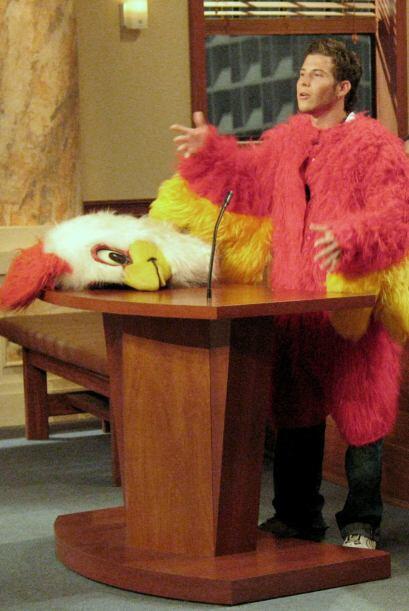 La jueza Cristina Pereyra le dio la razón al pollo y le pidi&oacu...