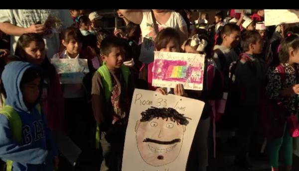 Participaron más de 180 escuelas del distrito de Los Ángeles