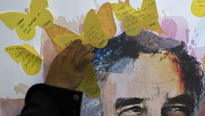 UT abre archivo personal de García Márquez