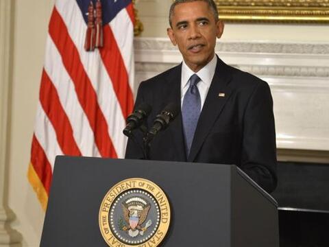 El presidente estadounidense, Barack Obama, se dirigió a la naci&...