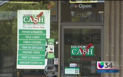 Alertan a la comunidad sobre préstamos del día de pago