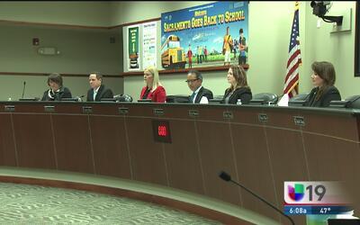 El Distrito Escolar Unificado de Sacramento asegura que protegerá a padr...