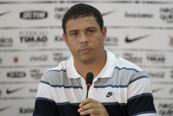 Ronaldo, el verdadero, el brasileño, uno de los mejores delanteros del m...