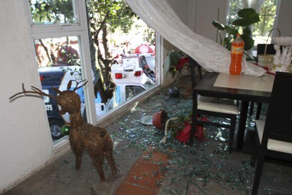 Los vecinos de Cuajimalpa también sufrieron las afectaciones de la explo...