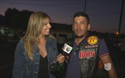 Banda 'Los Recoditos' graban su nuevo video musical con muchas motos y g...