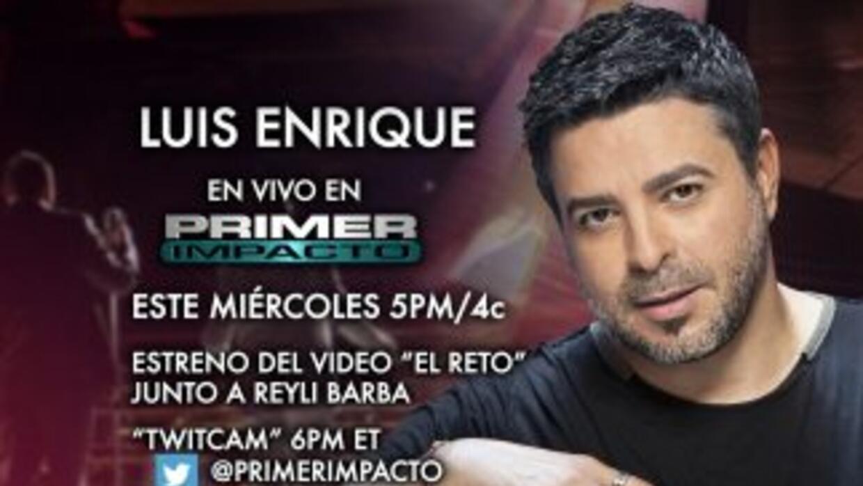 Luis Enrique en vivo en Primer Impacto