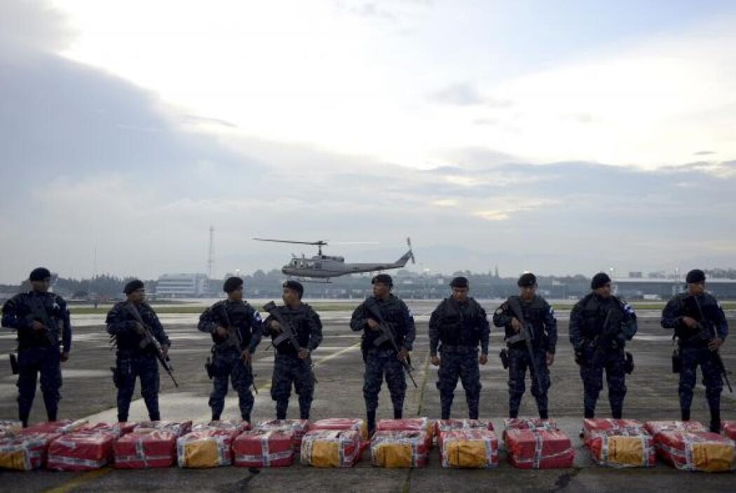 Las autoridades guatemaltecas presumen que la estructura lavó unos 46 mi...