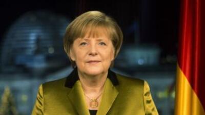 La jefa del gobierno alemán, Angela Merkel, cancela su agenta por tres s...