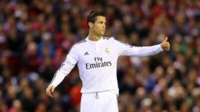 El portugués colaboró con un gol en la victoria del Real Madrid sobre el...