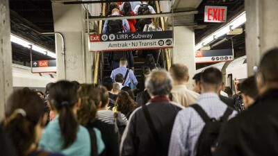 Caos para usuarios del NJ Transit