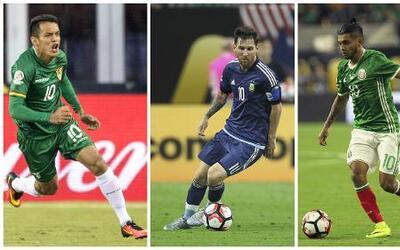 Estos son los tres mejores goles de la Copa América Centenario