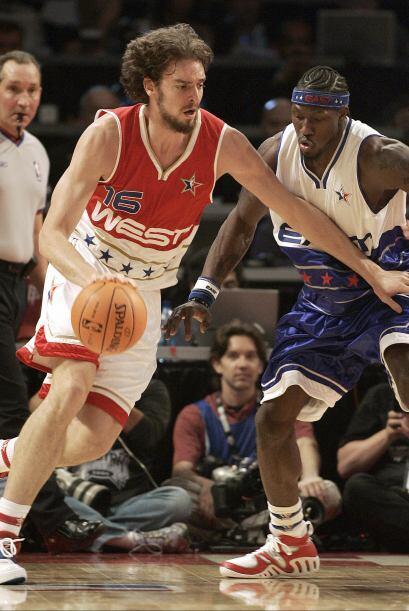 Gasol fue el primer español en en ser elegido para jugar un All-Star Gam...