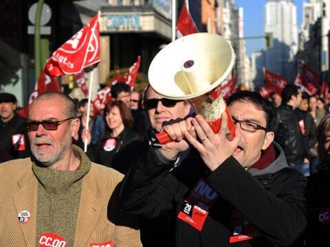 A pesar de que sindicatos calificaron como un éxito la huelga general qu...