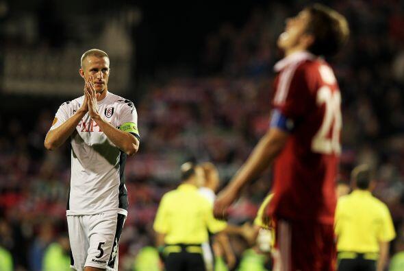 El Fulham buscaba los tres puntos ante el Wisla Cracovia.