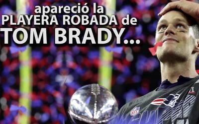 Encuentran en México la playera perdida con la que Tom Brady ganó el Sup...