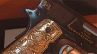 Armas extravangantes de narcos