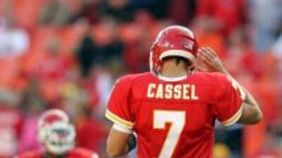 Cassel deja atrás su paso por los Chiefs.