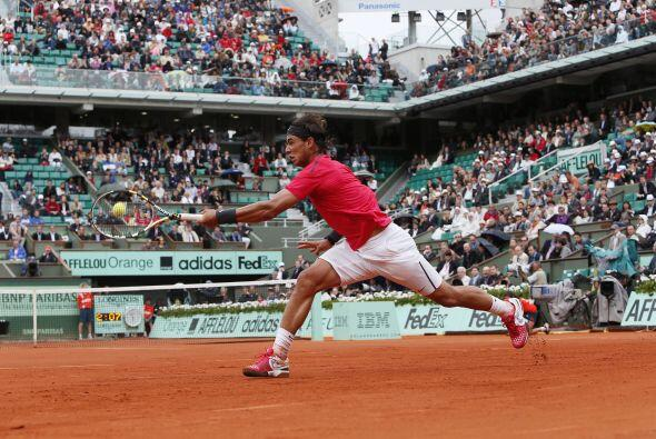 Con el resultado Nadal sumó su 50 victoria en Roland Garros, sobr...