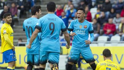 Barcelona gana con lo justo en Las Palmas