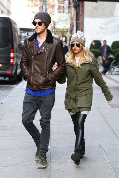 ¡Otra pareja con buen gusto son Ashley Tisdale y su prometido Christophe...
