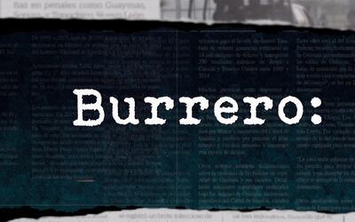 Diccionario Narco: Burrero