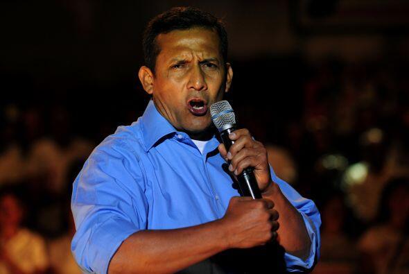 El favorito para ganar la elección es Ollanta Humalade acuerdo a las enc...
