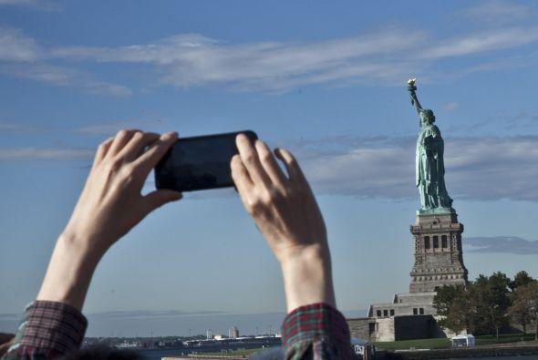 Pero si te encuentras dando una vuelta por Nueva york o vives ahí, no pu...