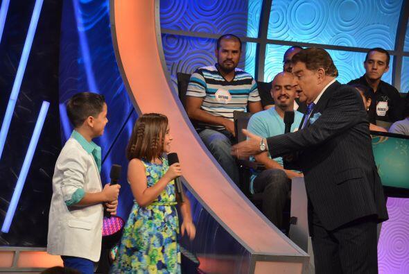 Braulio y Joselyn, como ya es costumbre, lo hicieron perfecto en la cond...