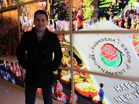 La Mansión de las Rosas, ha sido la sede del Desfile de las Rosas...