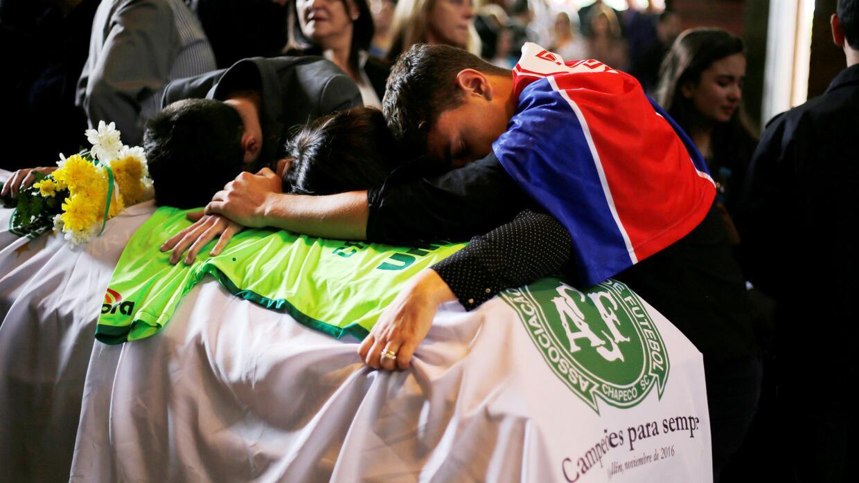 Emotivo último adiós en Brasil a los jugadores y directivos técnicos del...