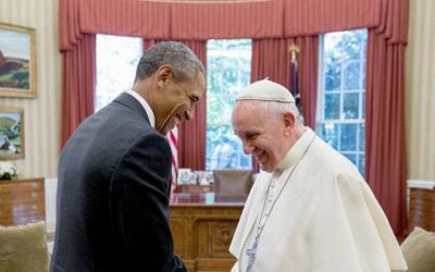 Barack Obama y el papa Francisco
