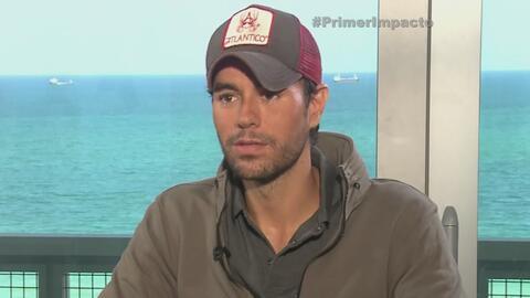 Enrique Iglesias nos contó de su prometida presentación en los Premios J...