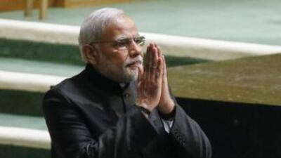 Narendra Modi,primer ministro de India.