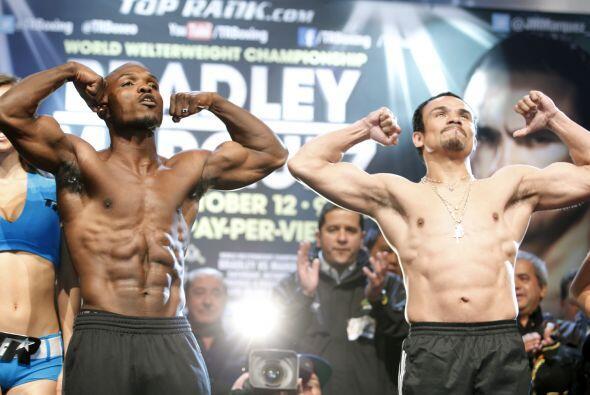 Toso listo para la gran pelea de Timothy Bradley contra Juan Manuel Märq...