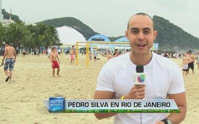 Fiesta de fans en Rio de Janeiro