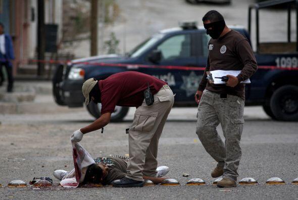 En Chihuahua se registró el 30% de los asesinatos registrados en el 2010...