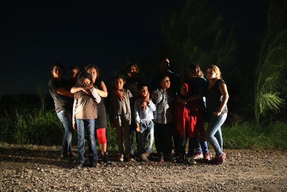 También existen casos de familias completas que buscan llegar a territor...