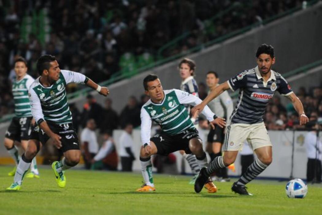 El Guadalajara estuvo cerca de llevarse los tres puntos pero no alcanzó...