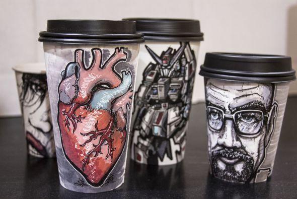 Hasta anatomía podemos observar en estos vasos.
