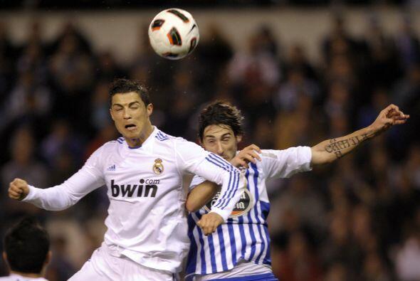 Cristiano Ronaldo estuvo bien controlado aunque tuvo la más clara...