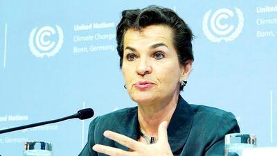 Fotografía tomada en el 2016 cuando Figueres lideraba la Cumbre d...
