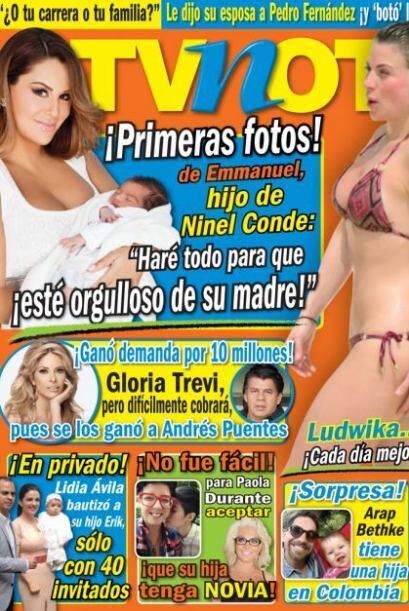 La actriz y cantante reveló que el parto le resultó m&aacu...