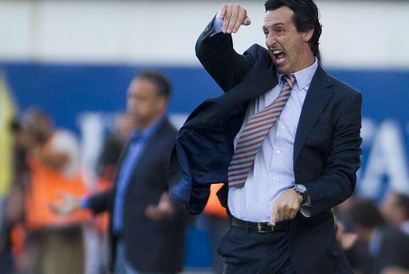 El técnico del Mallorca, Unai Emery, también bailó,...
