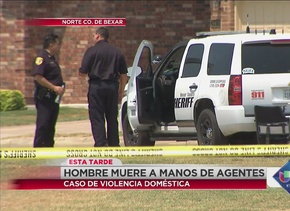 Hombre muere a manos de un agente